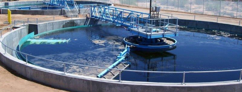 Estação de tratamento de efluentes oleosos