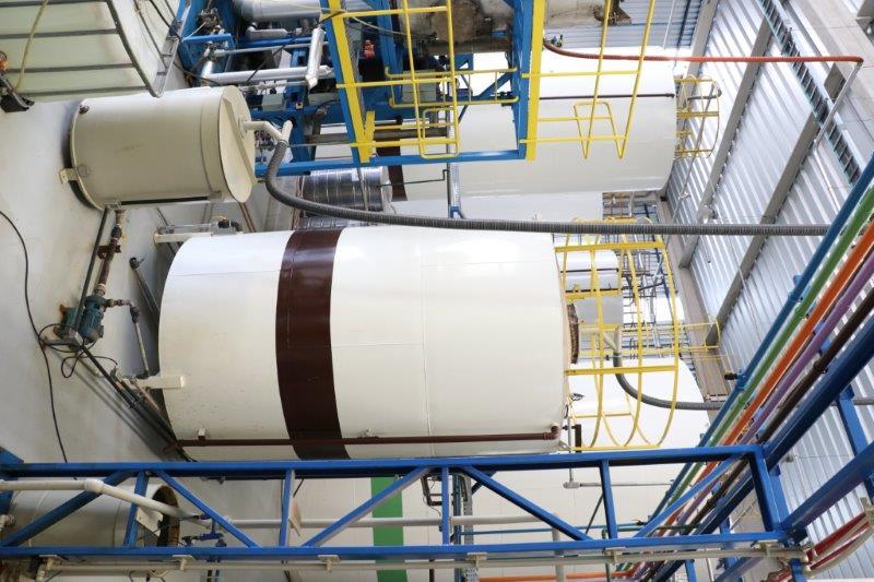 Estação de tratamento de esgoto industrial